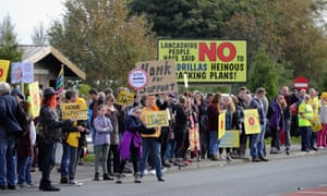 Earlier this month, ministers allowed a fracking site in Lancashire to go ahead, overturning a previous decision by the county council.