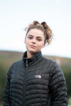 Hollie, 15, Merthyr Tydfil in Wales.