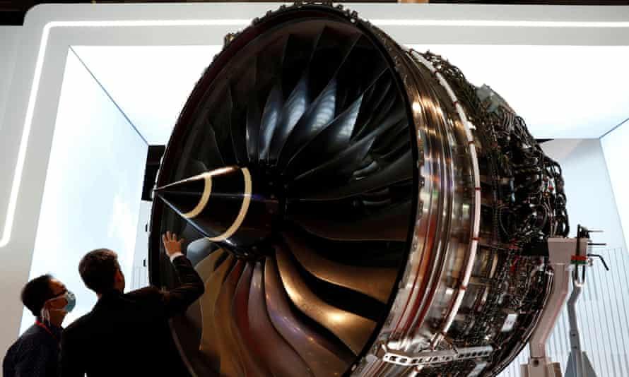 Rolls-Royce employs 52,000 staff globally