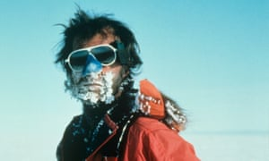 Body and soul … Ranulph Fiennes