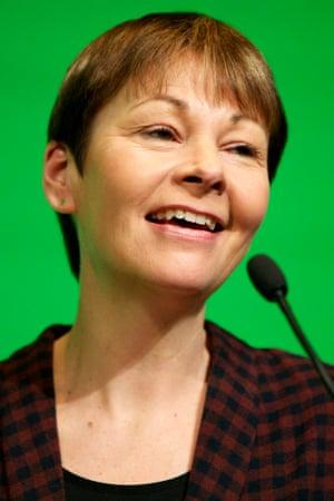 Caroline Lucas.