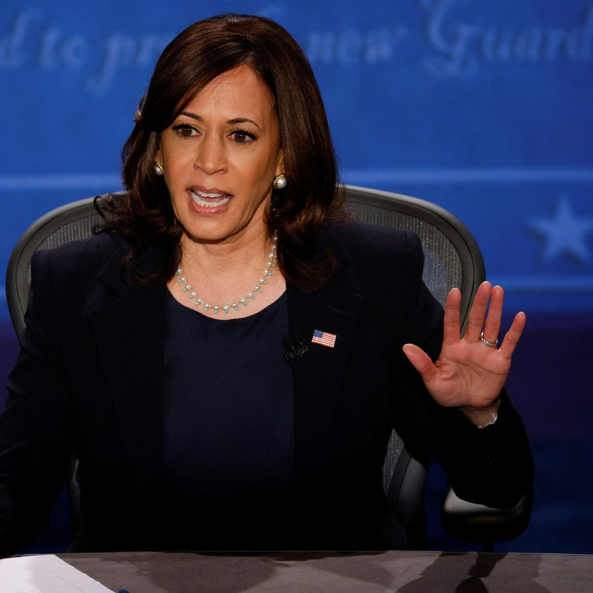 Kamala Harris Walked A Tightrope But Still Wiped The Floor With Mike Pence Jill Filipovic Opinion The Guardian