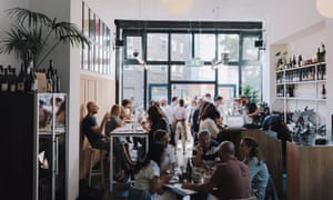 Bright restaurant: 'Hackney's low-intervention wine bar and dining counter with a changeable chef rota'