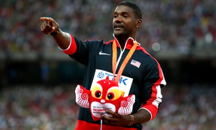 Justin Gatlin's agent said the sprinter will not speak to British journalists in order to maintain his own 'dignity and respect'.