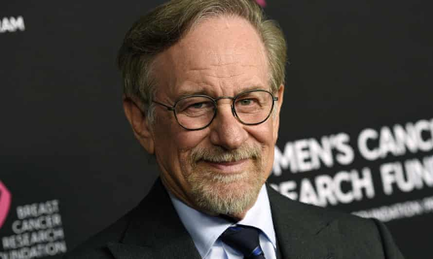 Going with the stream … Steven Spielberg.