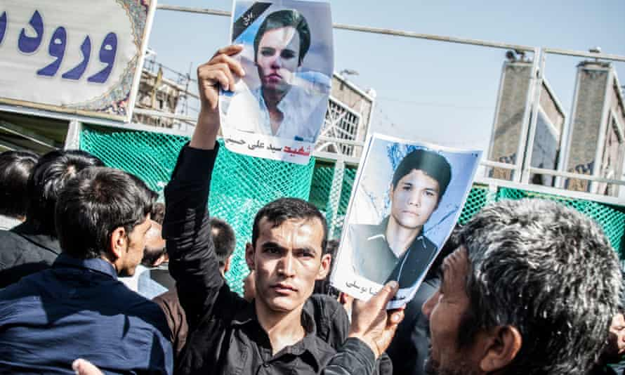 Mujtaba Jalali had state permission to photograph the funerals but has since fled Iran