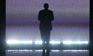 Trump at the Republican National Convention in 2016.