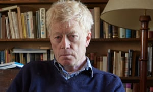 Philosopher and writer Roger Scruton at home.