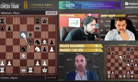 Hikaru Nakamura v Magnus Carlsen