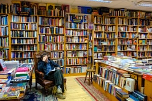 Charlie Byrne's Bookshop in Galway, Ireland.