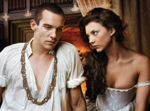 Jonathan Rhys Meyers and Natalie Dormer in The Tudors
