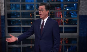 Stephen Colbert: 'If Trump didn't tweet about it, Amash would be a page-three news story, like war with Iran.'