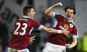 Happy happy Joey Joey. Barton celebrates his goal.