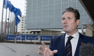 Keir Starmer is concerned that Labour could be blamed for any chaos if it votes against Theresa May's deal.