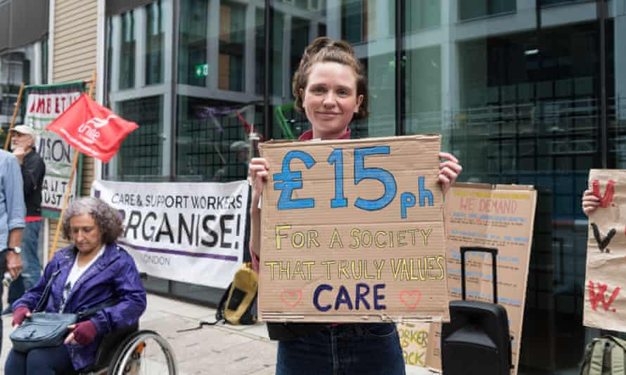 Poorly paid care workers will be hit hard by the national insurance hike