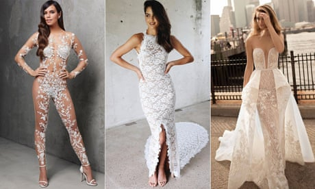 From 'secretly bare' to 'comedy nude': a guide to the naked wedding dress trend