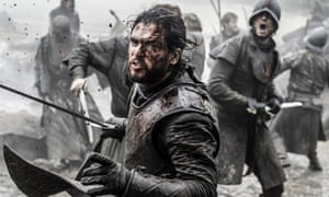 Mud and guts: Jon Snow in Game of Thrones' Battle of the Bastards.