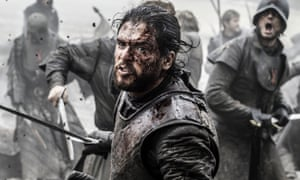 A very mucky Jon Snow (not the news one).