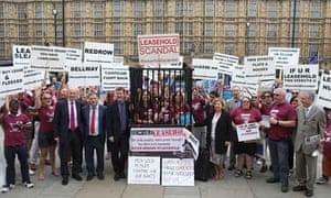 leasehold demonstrators