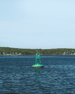 A buoy in Halifax harbour.