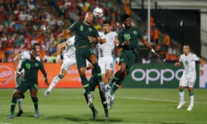 Image result for algeria vs nigeria