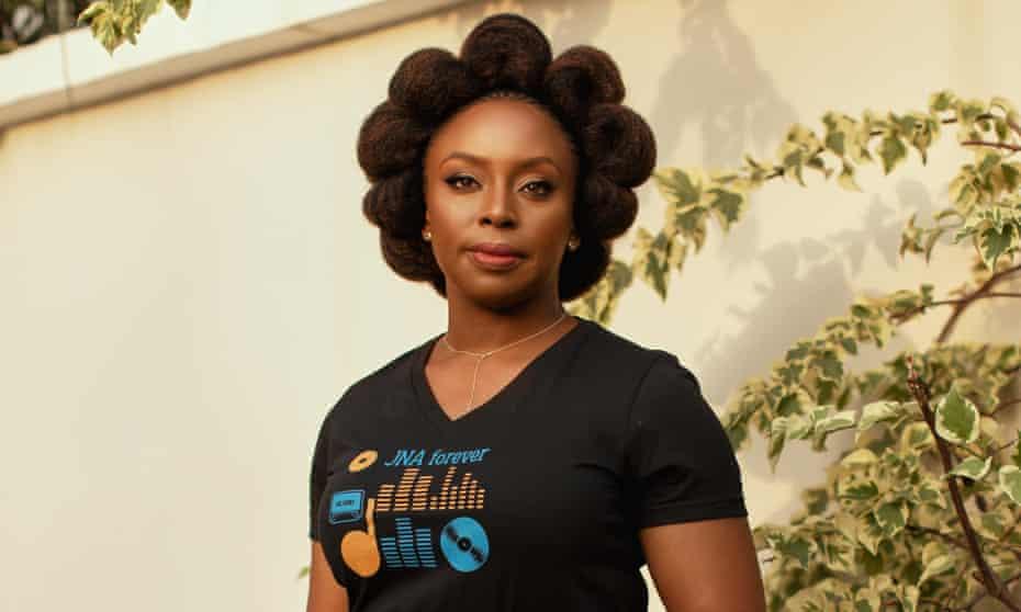 Chimamanda Ngozi Adichie: an unashamed 'Daddy's girl'.