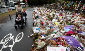 Tributes to the victims of the Christchurch mosque shootings, which gave the issue greater urgency.