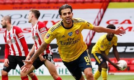 Dani Ceballos strike sinks Sheffield United and puts Arsenal in semi-final