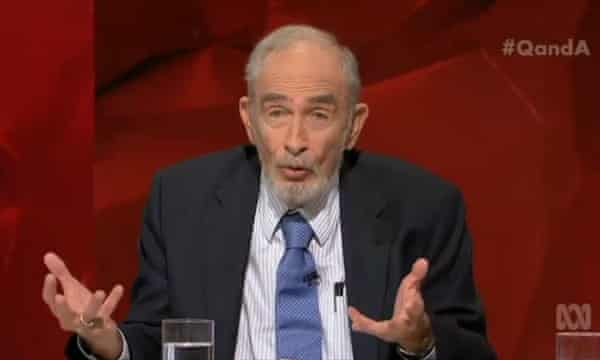 Denounced by some conservative Catholics: biologist Paul Ehrlich.