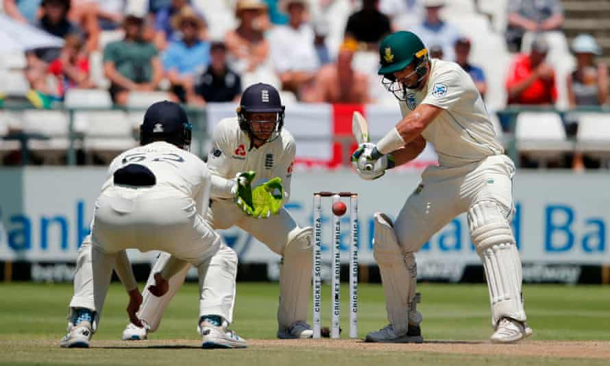 Pieter Malan played a fine innings over the fourth and fifth days for South Africa in Cape Town, occupying the crease for more than six hours.