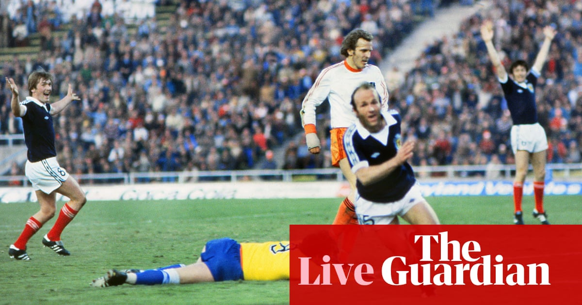 Scotland 3-2 Netherlands: World Cup 1978, first group stage — as it happened