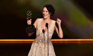 Phoebe Waller-Bridge at the Emmy awards