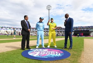 Australia win the toss and will bat first.