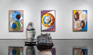 Huntley's exhibition, Sky Light Mind, opens in Melbourne on 10 November.