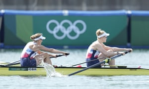 Helen Glover (left) and Polly Swann are going for gold.