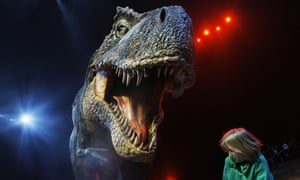The theory is based on the layer of thin enamel that covered the teeth of the T rex and fellow theropods.