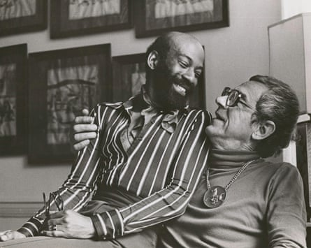 Jamen Butler (left) and Tom Malim, 1971. The couple were supporters of the Gay and Lesbian Community Center of Philadelphia.