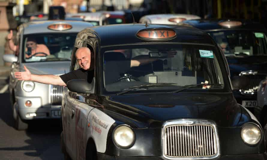 Black-cab drivers would probably consider Boris Johnson an unlikely ally.