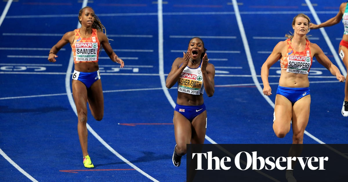 Dina Asher-Smith full of confidence before toughest test of the year