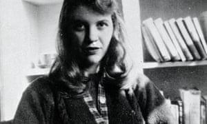 The poet Sylvia Plath