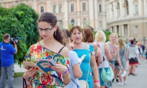 Odessa's attempt to reinvent itself as a tourist destination for book lovers