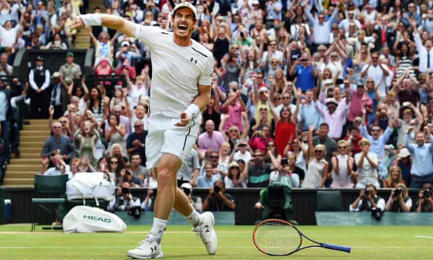Andy Murray celebrates winning Wimbledon in 2016, the LTA says it is determined to build on his legacy.