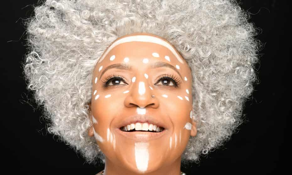 New perspectives … Njambi McGrath in Accidental Coconut at the Soho theatre.
