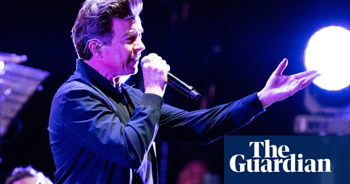 Rick Astley on his Smiths covers gigs: 'I'll use a karaoke machine if I have to'