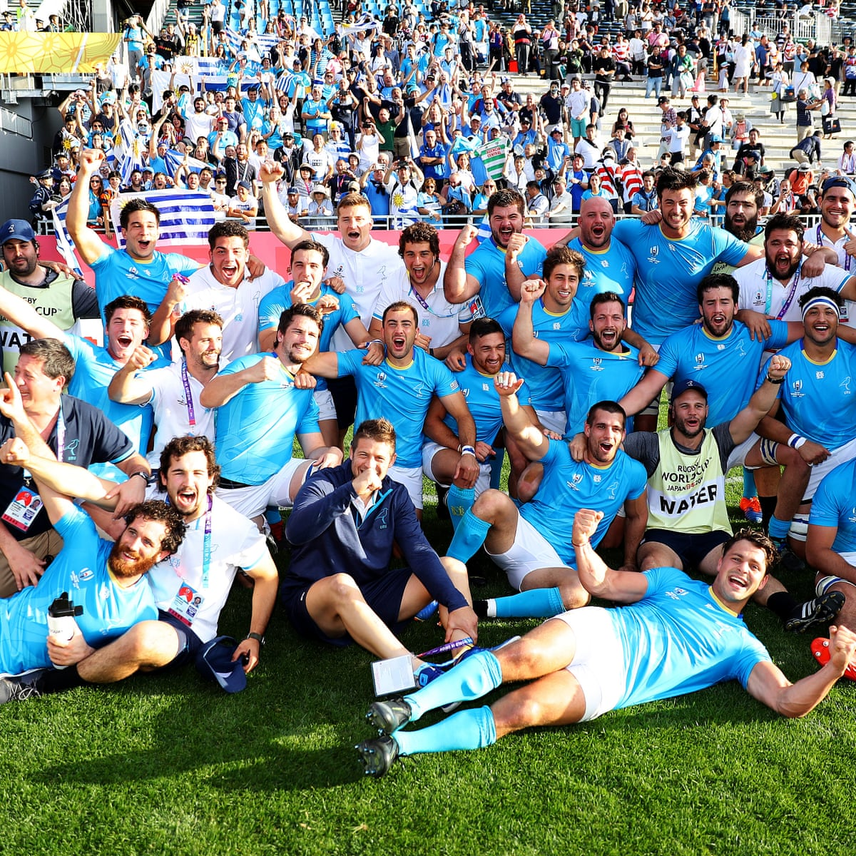 Uruguay S Shock Win Over Fiji Was Our Greatest This Is How We Did It Ignacio Chans Sport The Guardian