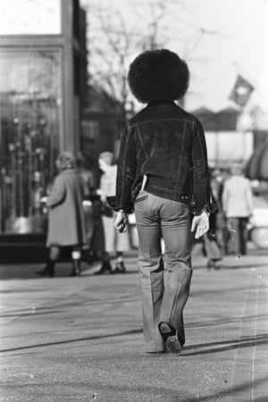 'This is the last shot from our shoot downtown. Prince was tired, especially of me! He said goodbye and turned his back and walked away. The only option I had left was to snap the shutter and the day was done'