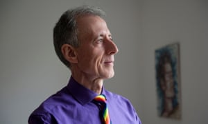 Peter Tatchell, who spoke at the Policy Exchange fringe meeting.
