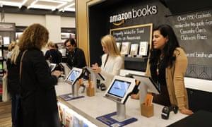 the Amazon Books store in New York City.