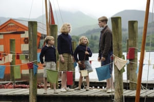 children by the lake in Swallows and Amazons