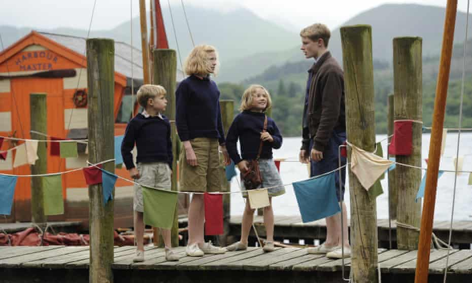 Kids on an adult-free island … The 2016 film adaptation of Swallows and Amazons